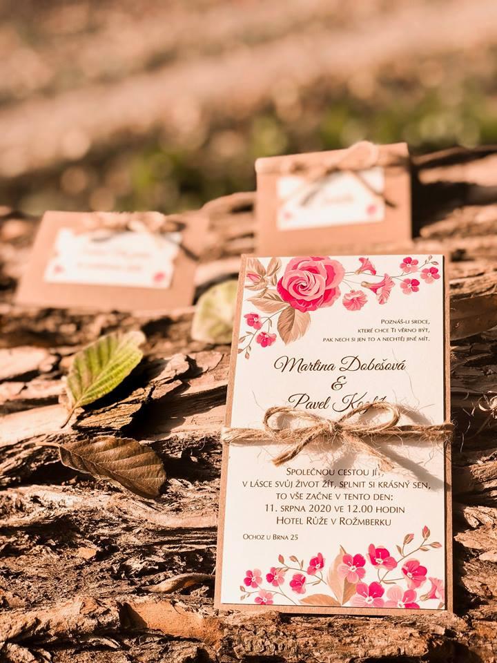 Svatební oznámení, tiskoviny a krabičky - Obrázek č. 47