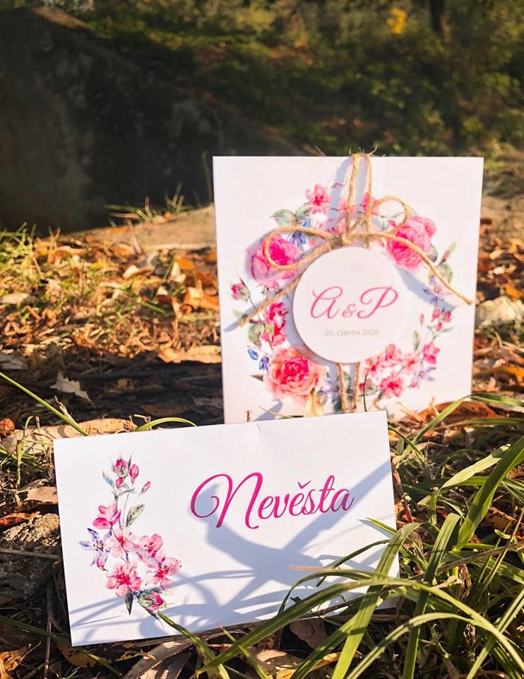 Svatební oznámení, tiskoviny a krabičky - Obrázek č. 50