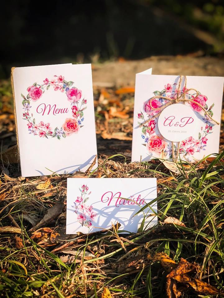 Svatební oznámení, tiskoviny a krabičky - Obrázek č. 51