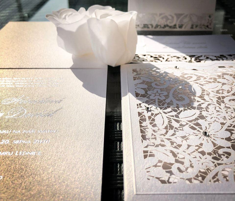 Svatební oznámení, tiskoviny a krabičky - Obrázek č. 52