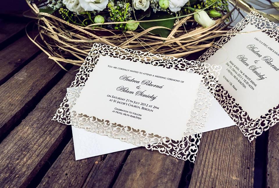 Svatební oznámení, tiskoviny a krabičky - Obrázek č. 54