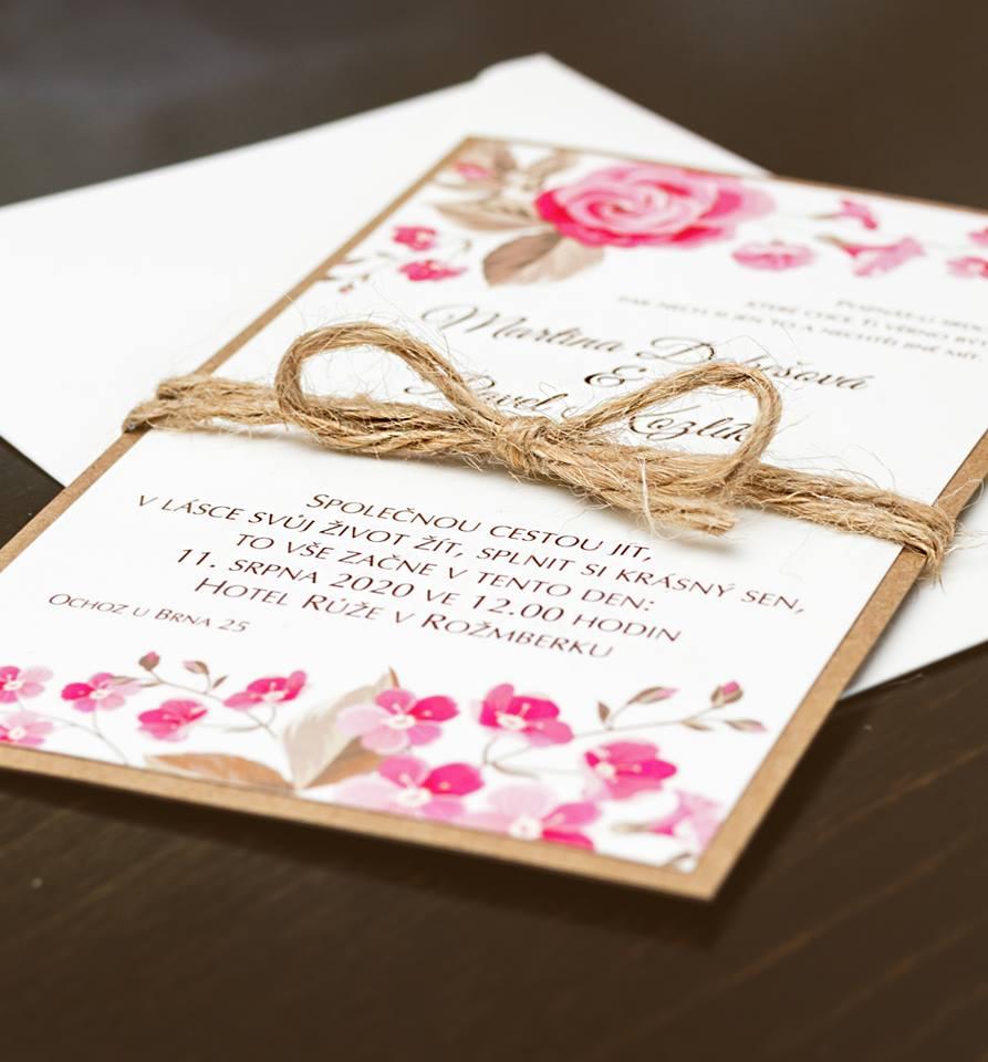 Svatební oznámení, tiskoviny a krabičky - Obrázek č. 55