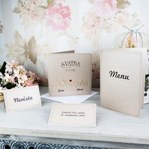 Svatební oznámení, tiskoviny a krabičky - Obrázek č. 59