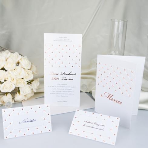 Svatební oznámení, tiskoviny a krabičky - Obrázek č. 60