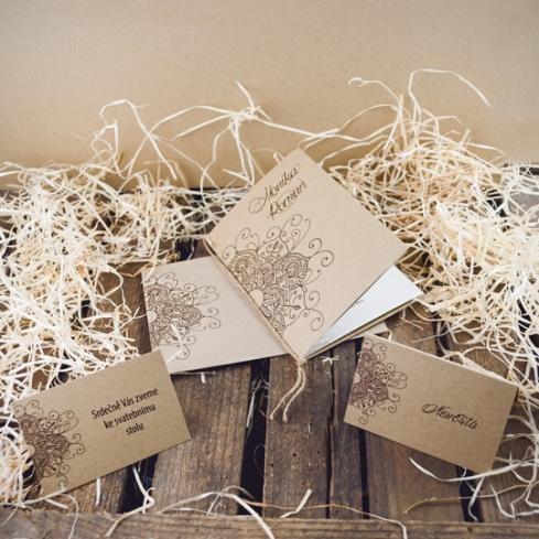 Svatební oznámení, tiskoviny a krabičky - Obrázek č. 67
