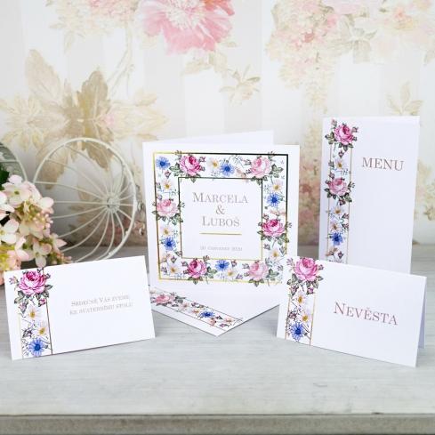 Svatební oznámení, tiskoviny a krabičky - Obrázek č. 61