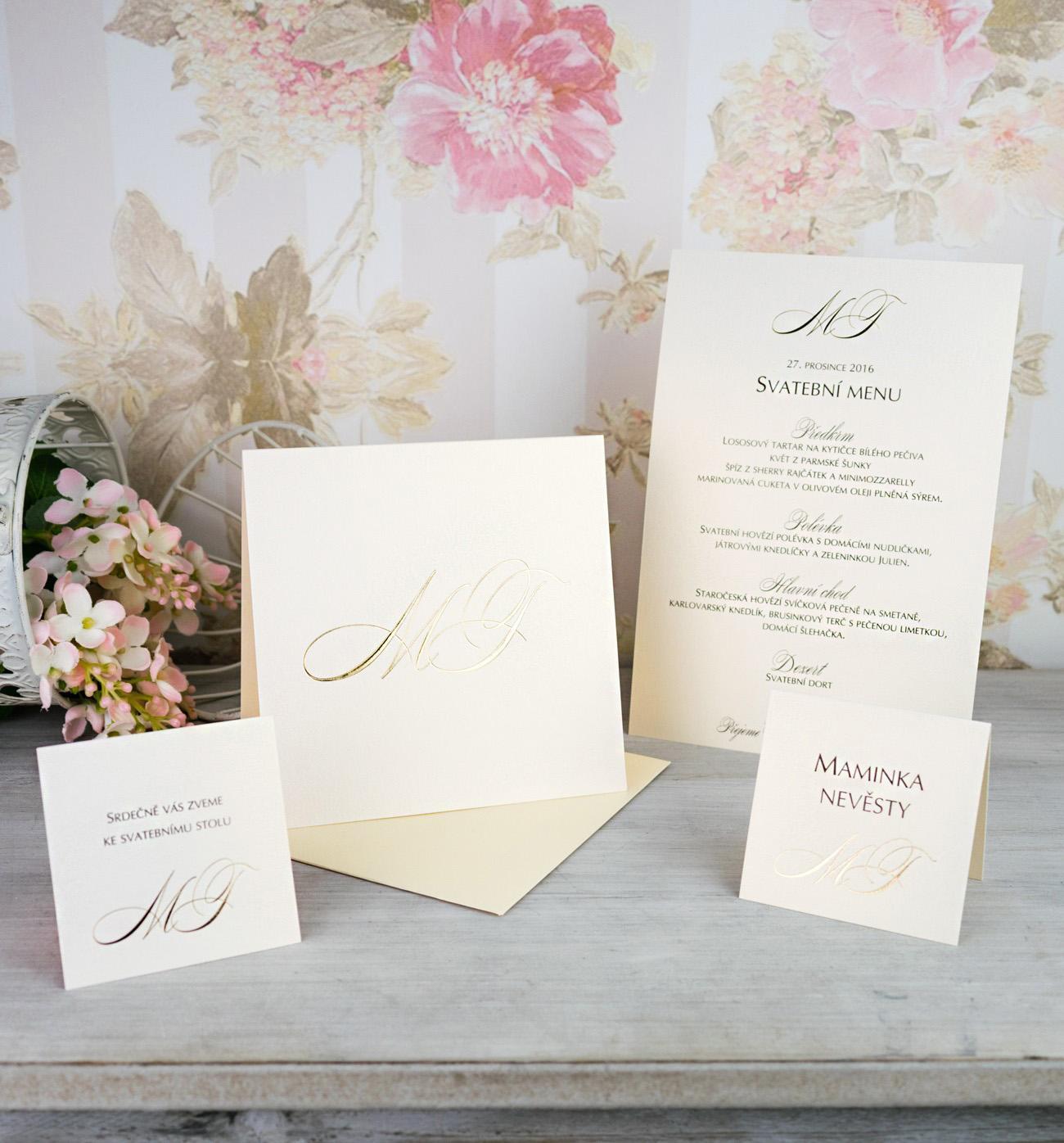 Svatební oznámení, tiskoviny a krabičky - Obrázek č. 63