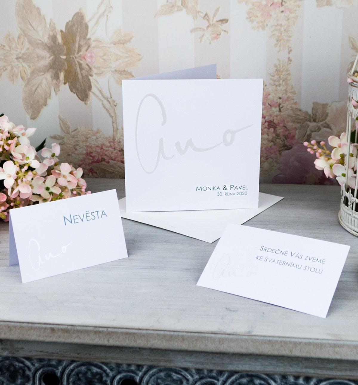 Svatební oznámení, tiskoviny a krabičky - Obrázek č. 65