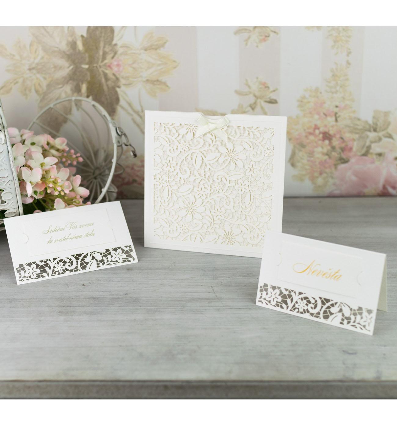 Svatební oznámení, tiskoviny a krabičky - Obrázek č. 64