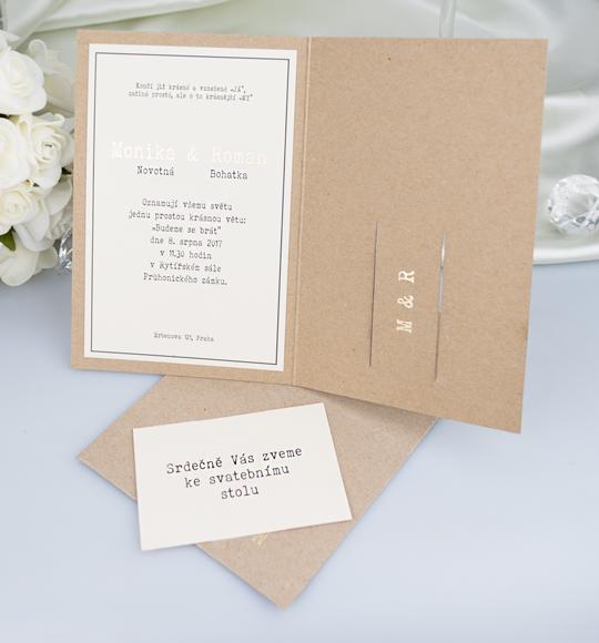 Svatební oznámení, tiskoviny a krabičky - Obrázek č. 66