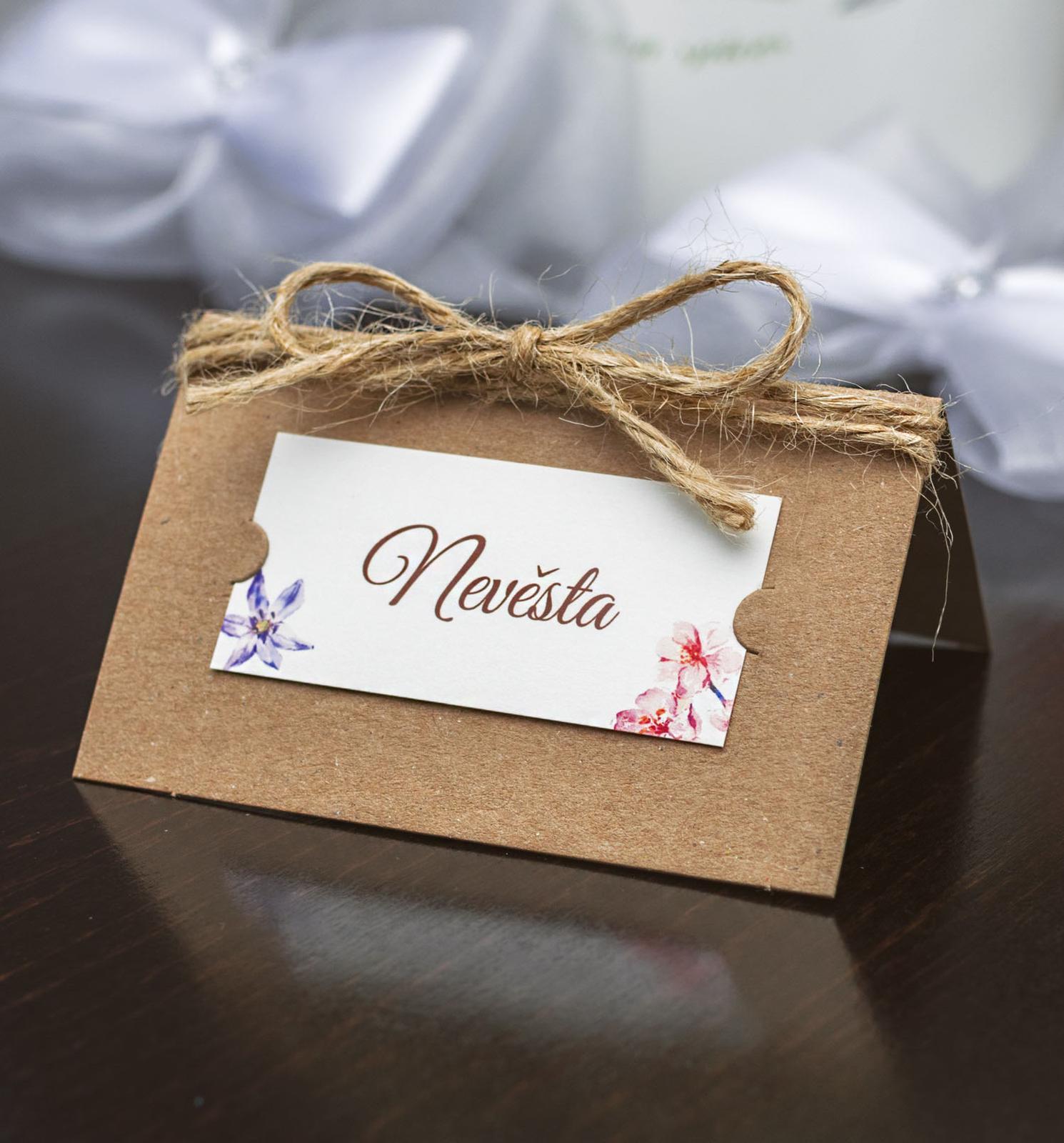 Svatební oznámení, tiskoviny a krabičky - Obrázek č. 76