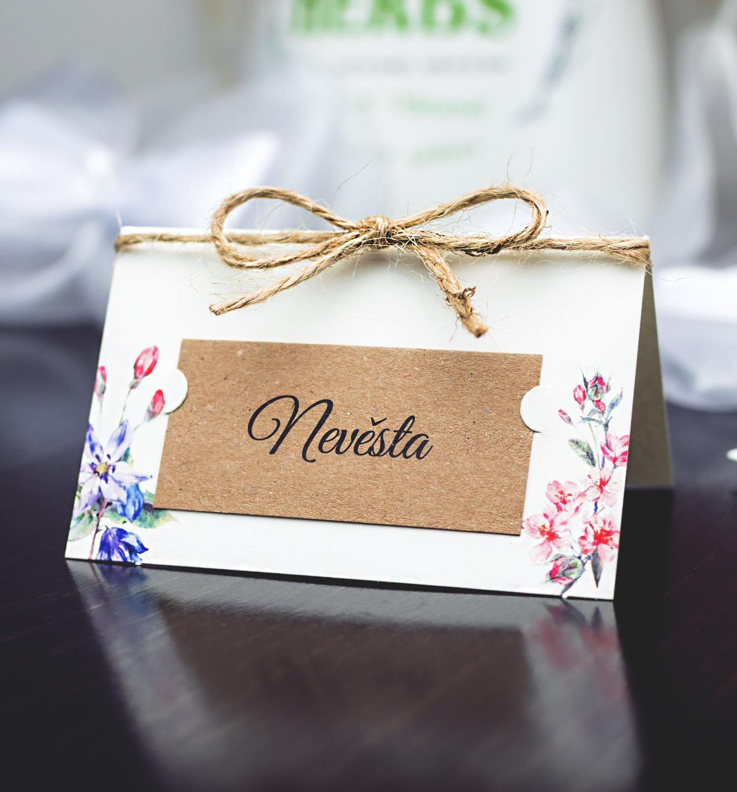 Svatební oznámení, tiskoviny a krabičky - Obrázek č. 77