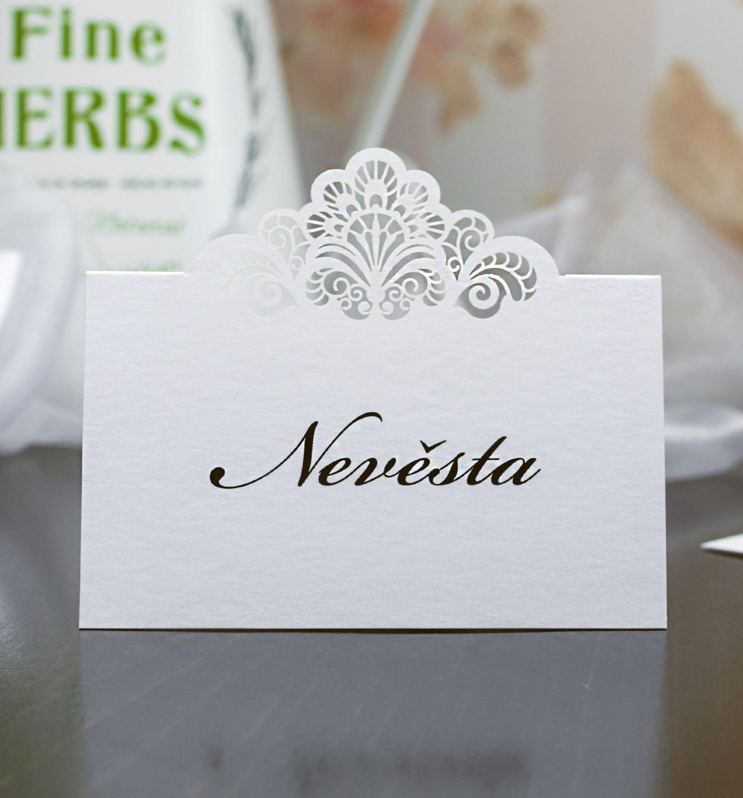 Svatební oznámení, tiskoviny a krabičky - Obrázek č. 78