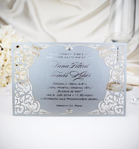Svatební oznámení, tiskoviny a krabičky - Obrázek č. 84