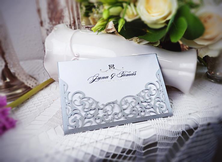 Svatební oznámení, tiskoviny a krabičky - Obrázek č. 91