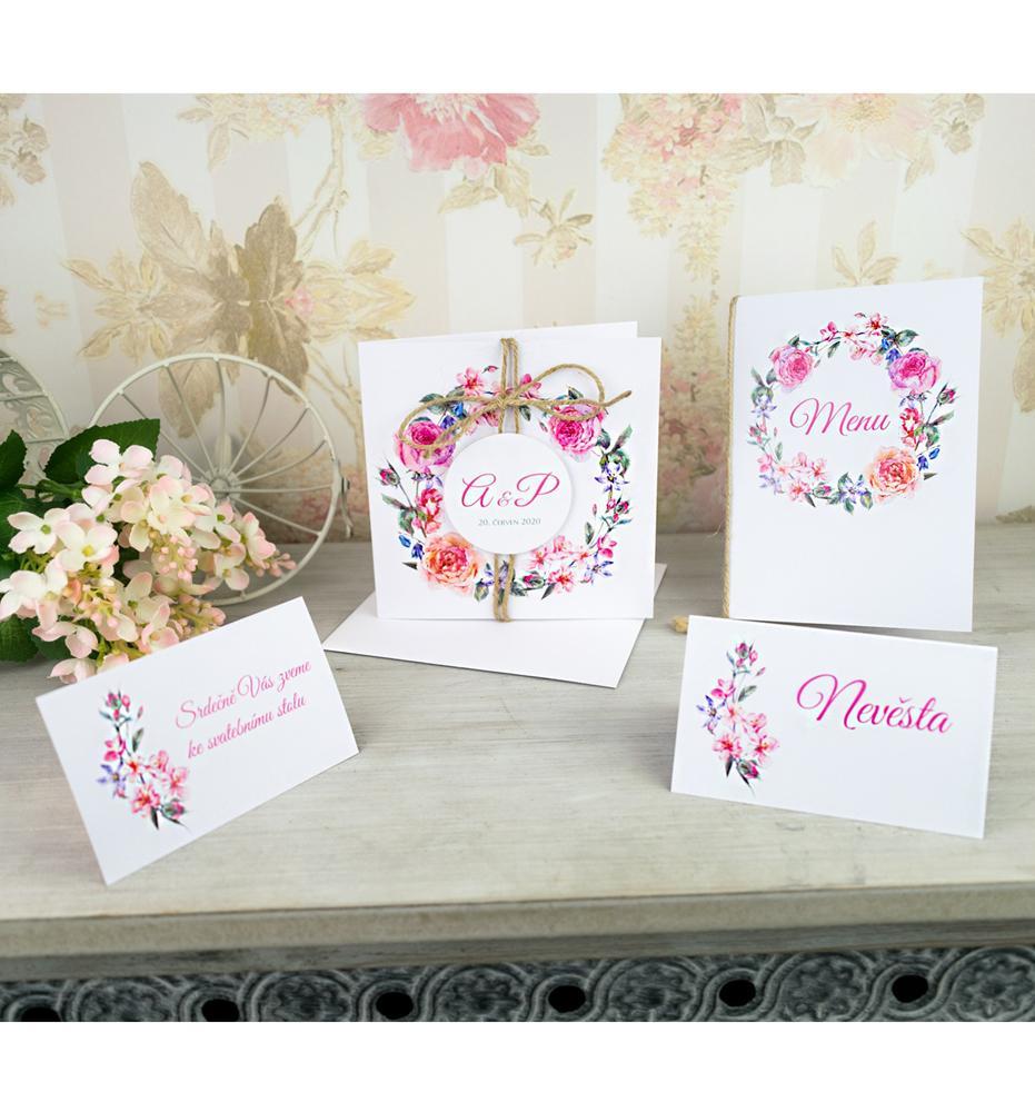 Svatební oznámení, tiskoviny a krabičky - Obrázek č. 92