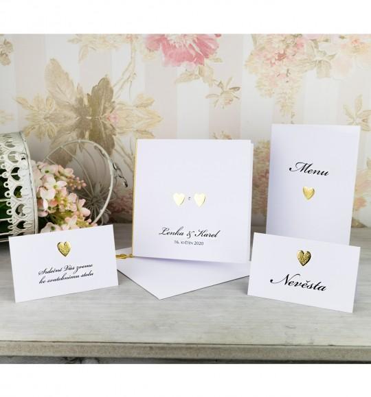 Svatební oznámení, tiskoviny a krabičky - Obrázek č. 93