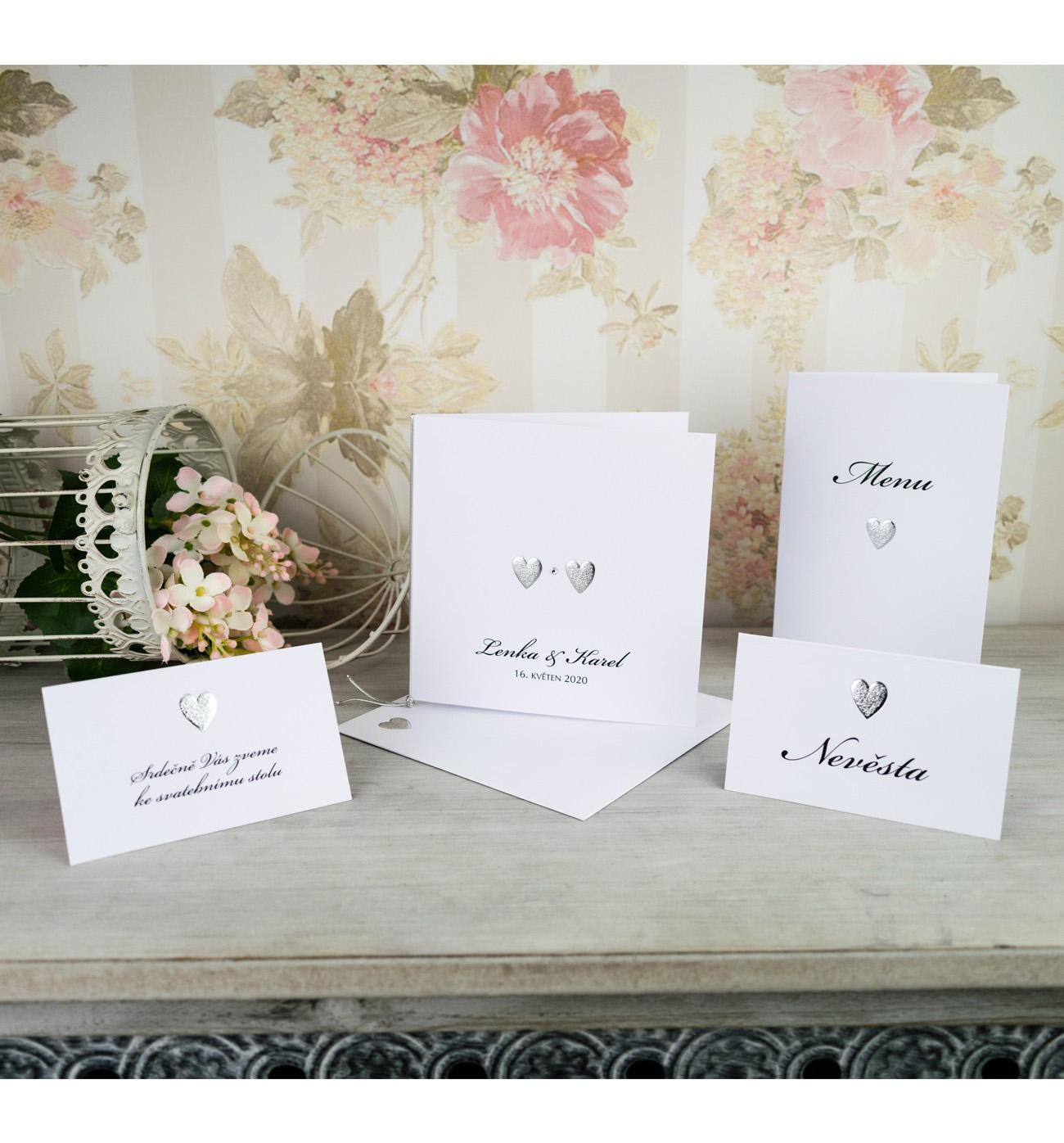 Svatební oznámení, tiskoviny a krabičky - Obrázek č. 94