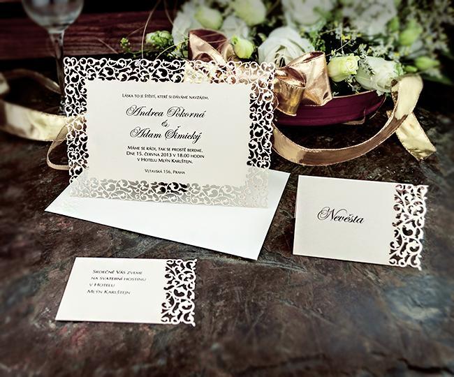 Svatební oznámení, tiskoviny a krabičky - Obrázek č. 96