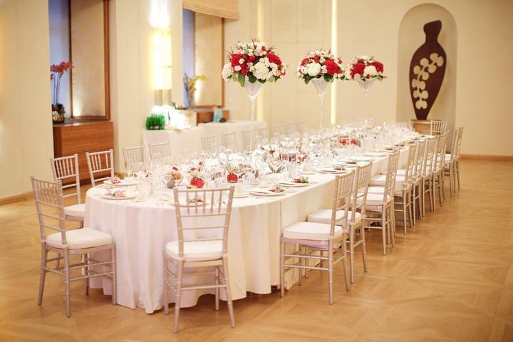 Půjčovna: stolů, lavic, židlí, ubrusů, potahů a dekorací - Obrázek č. 49