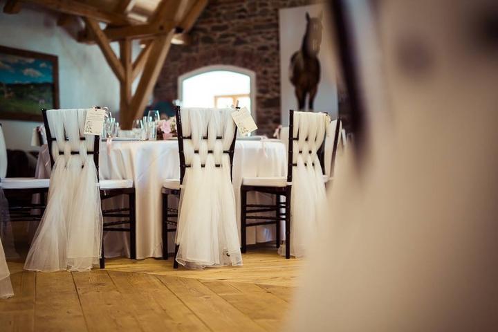 Půjčovna: stolů, lavic, židlí, ubrusů, potahů a dekorací - Obrázek č. 50
