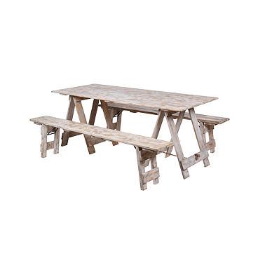 Půjčovna: stolů, lavic, židlí, ubrusů, potahů a dekorací - Obrázek č. 56