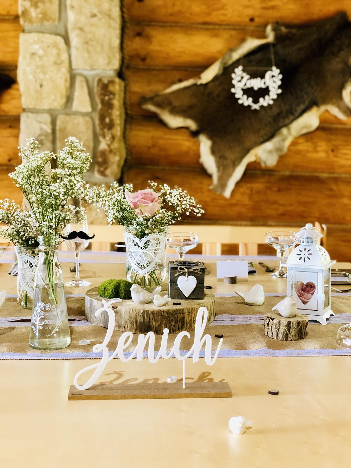 Svatební výzdoba a dekorace Praha - svatba Resort Svět