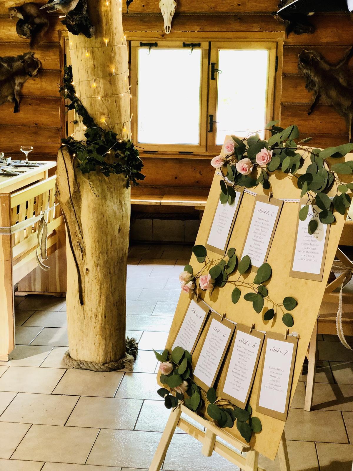 Svatební výzdoba a dekorace Praha - svatba Resort Svět - Vyzdobanaklic.cz