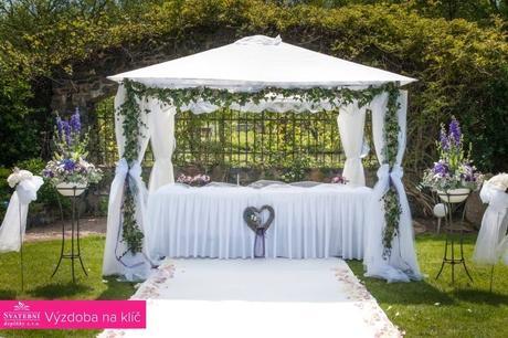 Svatební obřad - altán (set dekorací) - Obrázek č. 1