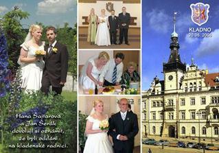 Svatební pohlednice