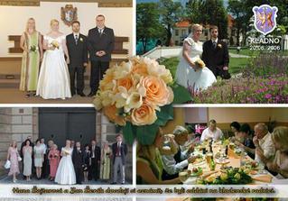 Svatební pohlednice 2 - vytvořená mým manželem