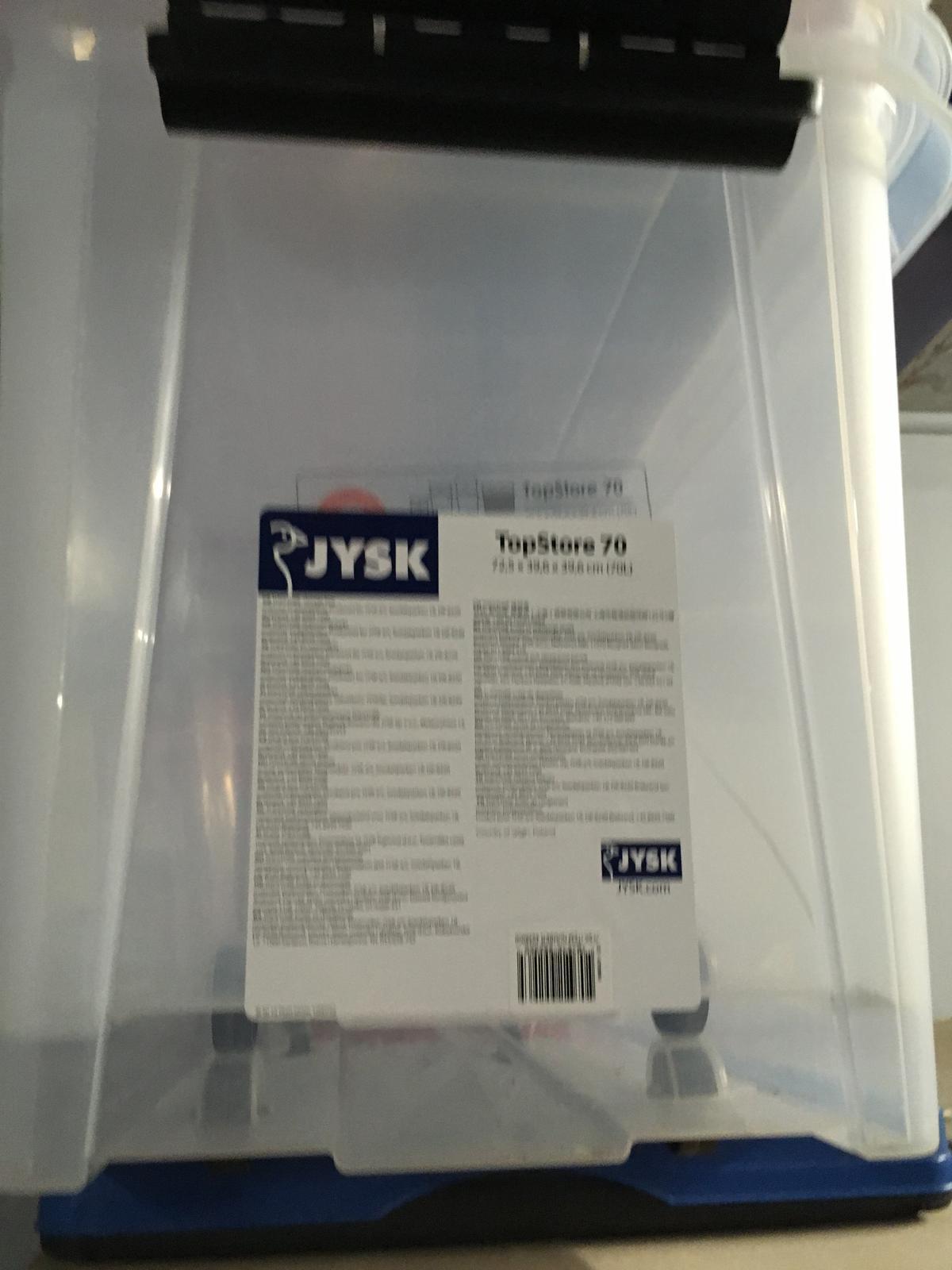 Jysk TopStore 70 - odkladacia krabica s kolieckami - Obrázok č. 1