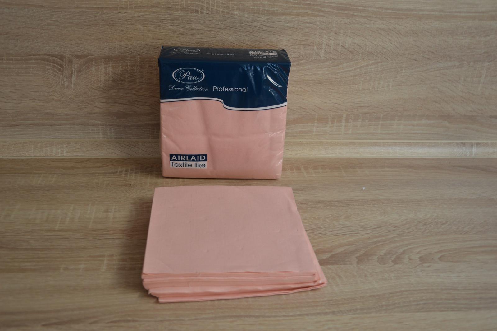 Servítky z netkanej textílie 40x40 - Obrázok č. 1