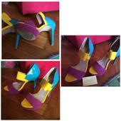 farebné topánky , 38
