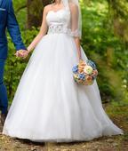 Svadobné šaty z kvalitných materiálov, 36