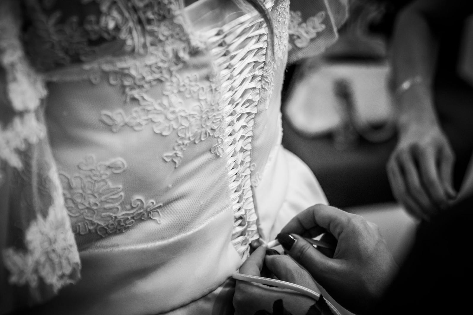 Svatební šaty- ručně šité- IVORY - Obrázek č. 3