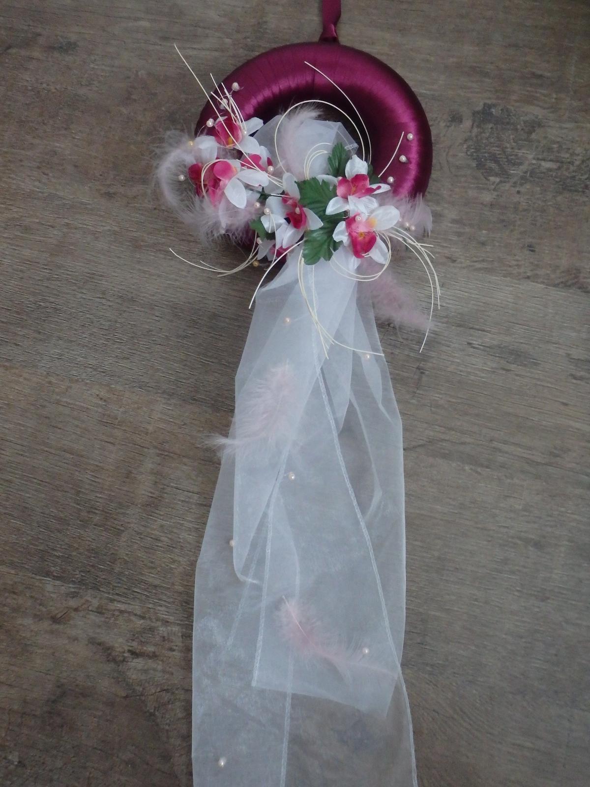 svadobný veniec na dvere - Obrázok č. 3