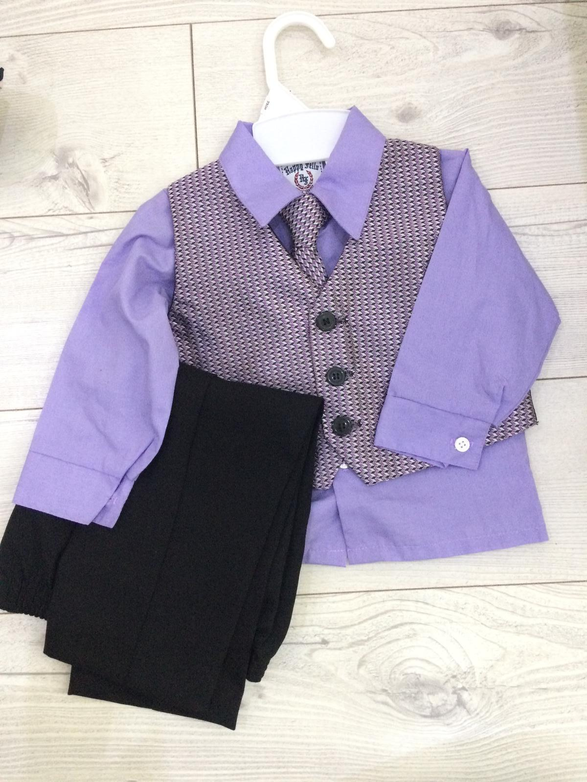 detska kosela vesta a nohavice+kravata - Obrázok č. 1