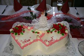 ...svatební dort...