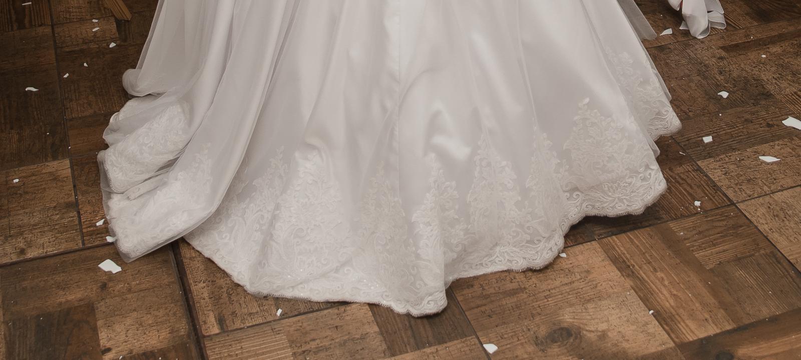 Svadobné šaty veľkosť 36-38  - Obrázok č. 2