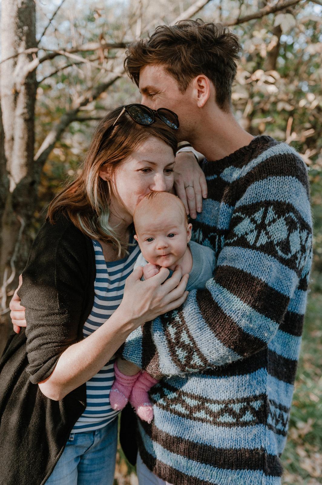 Rodinné focení s malou Žofkou 😍 - Obrázek č. 7