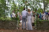 Splývavé stříbrné šaty pro nevěstu, 44