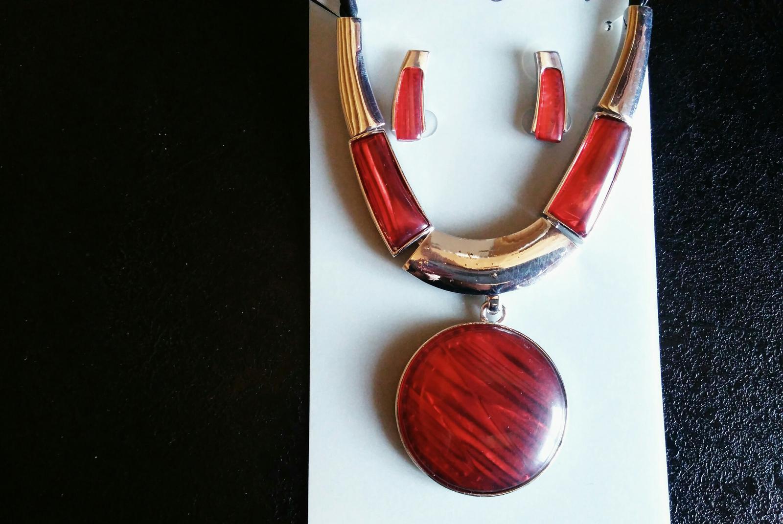 Sada- náhrdelník+náušnice - Obrázok č. 1