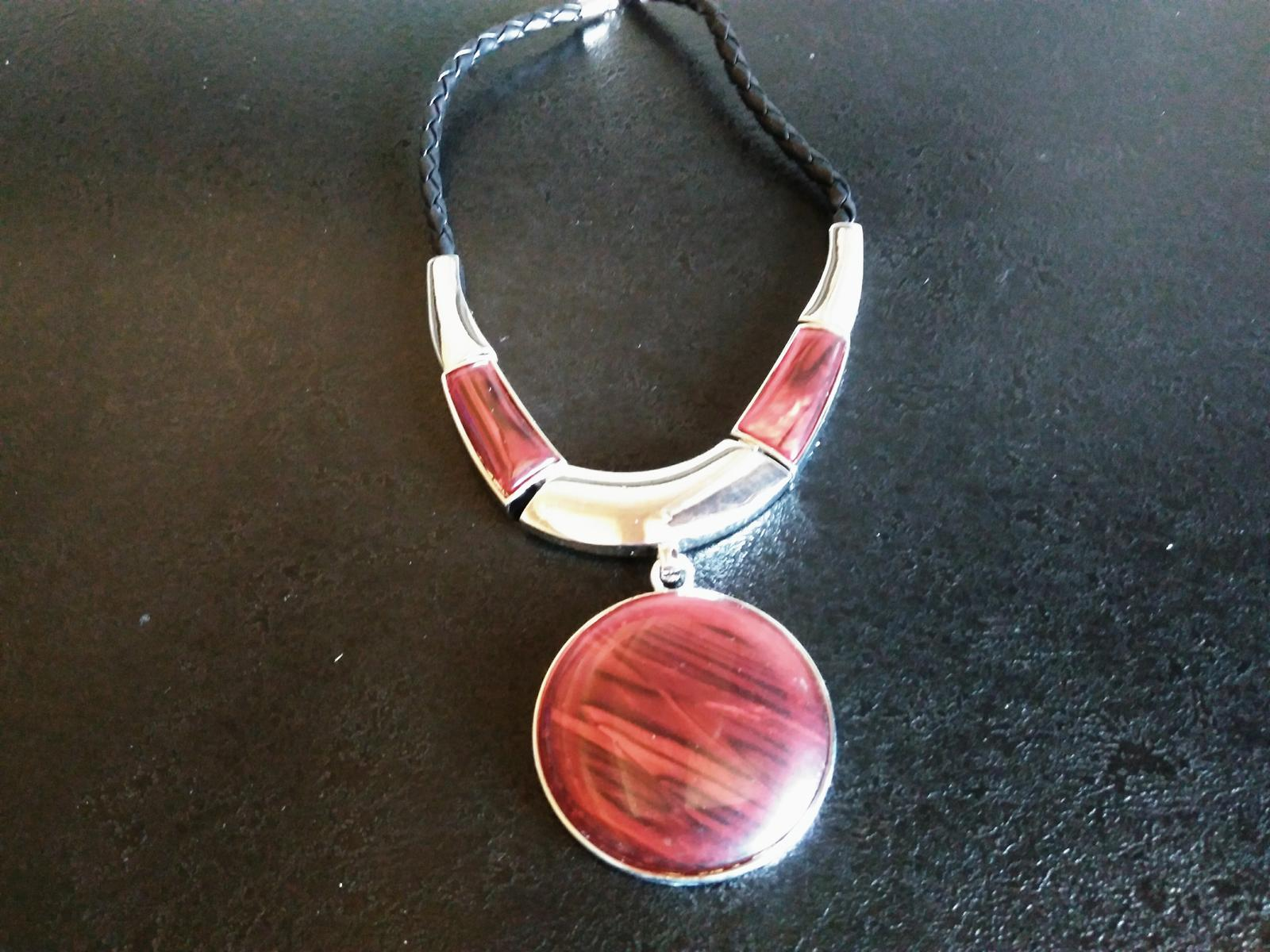 Sada- náhrdelník+náušnice - Obrázok č. 3