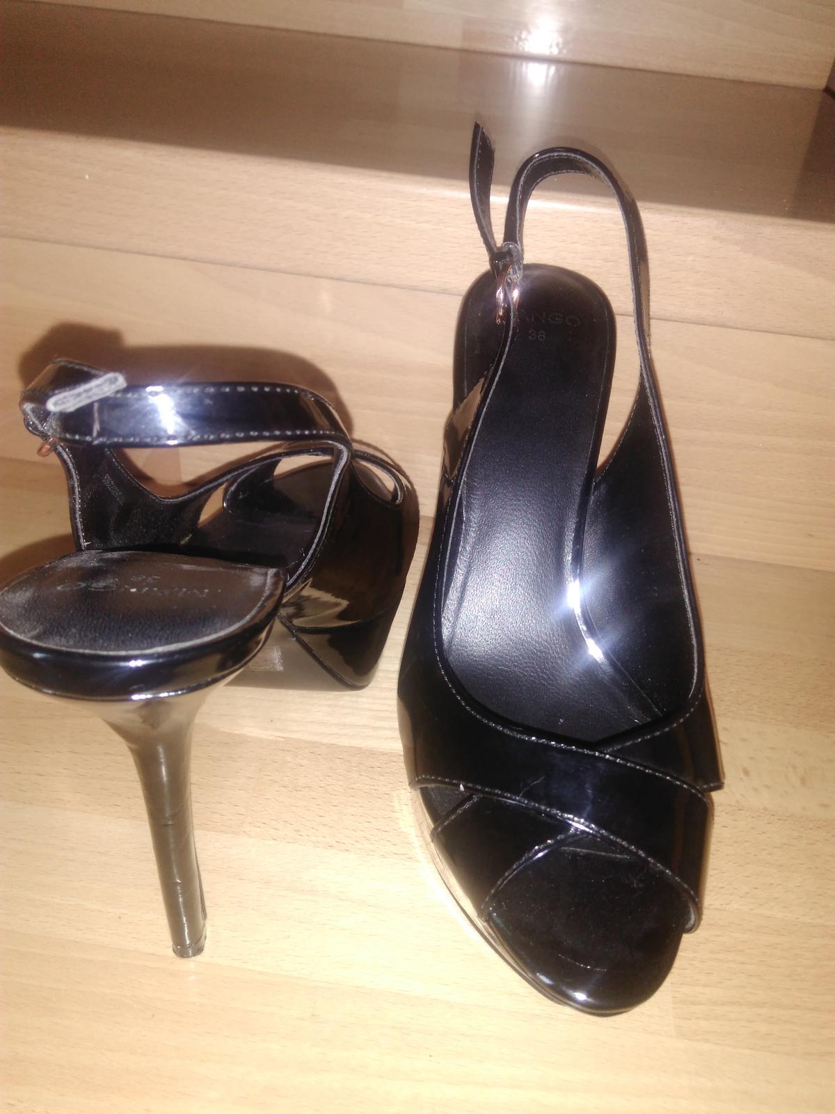 Sandále- Mango - Obrázok č. 3