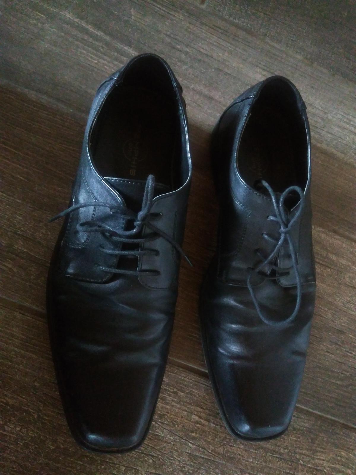 predám pánske topánky - Obrázok č. 1
