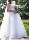 Svatební šaty s krajkou , 40