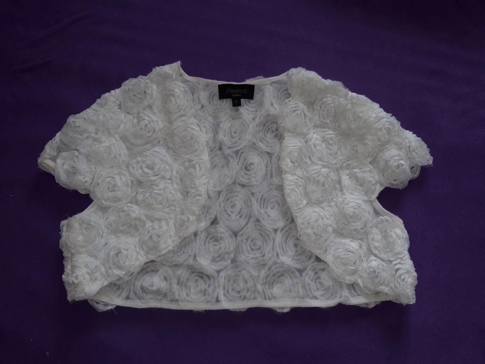 Krajkové svatební šaty XS-M - Obrázek č. 2