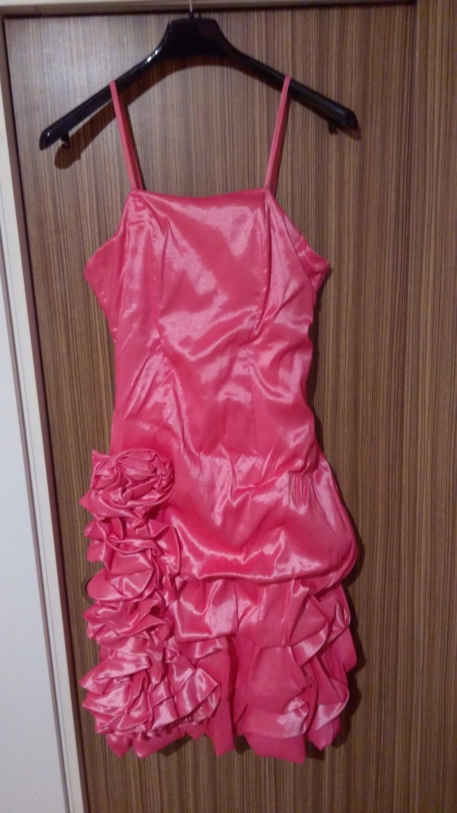 Spoločenské šaty 38-40 - Obrázok č. 1