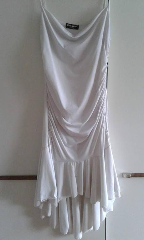 Biele popolnočné/letné šaty.  - Obrázok č. 1